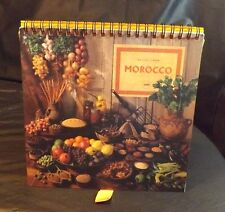 RECIPES FROM MOROCCO STAND UP & FLIP OVER COOKBOOK 1994 CARD PAGES