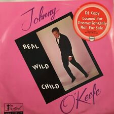 "Johnny O'Keefe & The Dee Jays Real Wild Child 10"" 2LP Festival G/Fold (Promo) NM"
