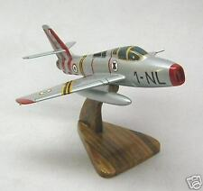 F-84-F Republic Thunderstreak F84F Airplane Desktop Wood Model Big New