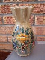 Italian Pottery Vase Gubbio Italy.