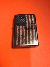 New listing 2014 Zippo Lighter I 14 American Flag Used