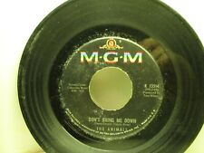45RPM MGM K -13514 THE ANIMALS Don't Bring Me Down 502A