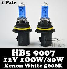 HB5 9007 12V 100W/80W Xenon White 5000k Halogen Car Head Light Lamp Globes Bulbs
