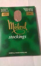 Mistrul 60 denier Mink nylon stockings Size Large
