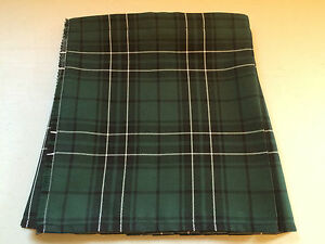 MacLean Tartan Baby Kilt  0-3 months to 2-3 y (Waist & Length Sizes Given)