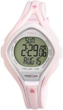 Timex Ladies Quartz Sports Watch T5K506DH Ironman 10ATM Rubber Indiglo