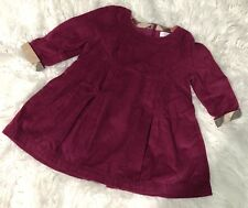Burberry Children Baby Girls Hearts Dress size 9m Excellent Condition