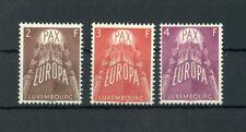 LUXEMBURG Nr.572-574 ** EUROPA 1957 ME 200,-++ !!! (110142)
