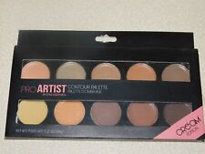 10 Colors Pro Make up Palette Contour Tool Face Eye Concealer Foundation Cream