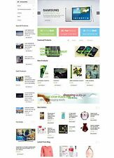 Multiple Affiliates Products Store Website
