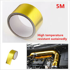 5M Gold Tape High Performance Reflective Heat Protection 1 Roll Turbo Engine