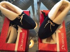 2 Pair - Dearfoam Slippers NEW U.S. Size 5-6  AND 6.5 -7.5