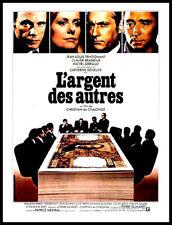 """FILM 16MM SONORE """" L'ARGENT DES AUTRES """" - TRINTIGNANT - BRASSEUR - SERRAULT"""