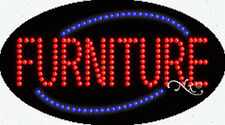 "New ""Furniture"" 27x15x1 Oval Solid/Animated Led Sign w/Custom Options 24209"