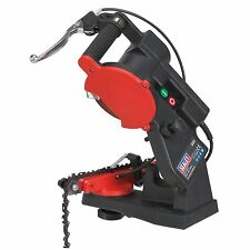 Sealey SMS2002C Chainsaw Cutting Blade Sharpener Machine Quick Locating 85W New