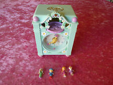POLLY POCKET FUNTIME CLOCK, COMPLETE & WORKING