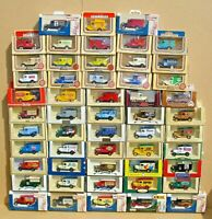 "LLEDO DAYS GONE MODELS 1930's FORD MODEL ""A"" VANS - CHOOSE FROM LIST LOT 13A"