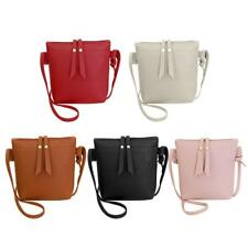 Women PU Leather Shoulder Cross Body Bag Purse Tote Satchel Handbag Messenger