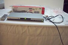 New listing Toshiba Dvd / Cd Player Sd-3990Su w. Remote Manual & Org. Box Tested Works