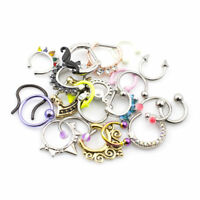 Lot Of 10 Septum Jewelry Randomly Best Sellers Picked