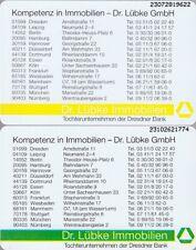 Volle S-Serie: 2 TK (01) S 122.93 Dr. Lübke Immobilien 2 Varianten