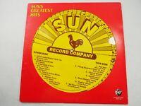 Sun Record Company Greatest Hits Rhino Records RNDF 256 LP Record 1984