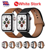 Genuine Leather Strap iwatch Band Series for Apple Watch SE 54321 38 40 42 44 mm