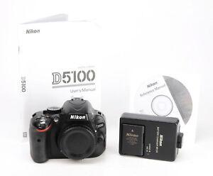 Nikon D5100 DSLR Camera - Body Only + 1080p HD + Nikon Battery & Nikon Charger