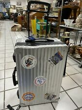 Rimowa Salsa Multiwheel Trolly Aktentrolly Handgepäck Größe Piloten Koffer Metal