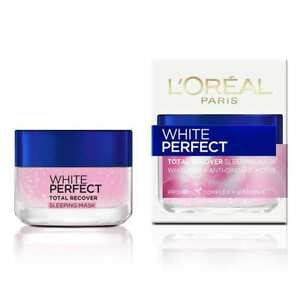 L'Oreal Paris White Perfect Total Recover Sleeping Mask Skin Whitening 50ml