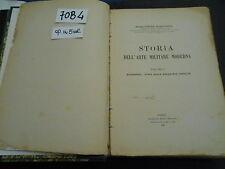 Pietro Maravigna STORIA DELL'ARTE MILITARE MODERNA (70 B 4) op. in 5 vol.