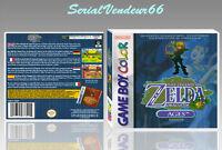 """Boitier du jeu """"ZELDA ORACLE OF AGES"""", Game Boy Color. HD. FR. SANS LE JEU."""