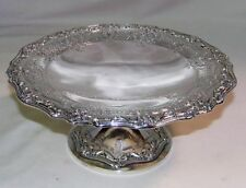 SILVER COMPORT DISH GRAFF, WASHBOURNE & DUNN STERLING