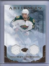 2010-11 ARTIFACTS GUILLAUME LATENDRESSE JERSEY BRONZE SP /150