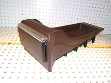 Mercedes Early W126 SEC Rear seat BROWN open 1 Console &1 Ashtray,1268430707,T#1
