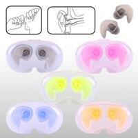 Silicone Soft Waterproof Earplug Adult Children Swimming Protector Ear Plug