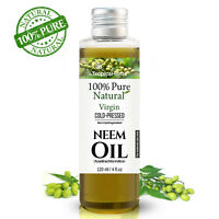 Neem Oil Virgin Unrefined Pure Cold Pressed Carrier Insecticide Insect Repellent