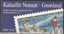 Greenland 1997 Christmas, Children & Dog Sleds, Booklet complete. UNM / MNH