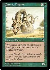 DIRTCOWL WURM Tempest MTG Green Creature — Wurm RARE