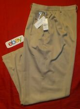 NEW NWT Women Beige Rear-Elastic CB COLLECTIONS PULL ON Casual Pants sz 18 M