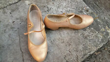 OFFICE 20s dance shoes peachy lustre gold size 5/38