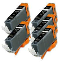 5 PK BLACK ink Cartridge w/ chip fits Canon CLI-221 MP640 MX860 MX870