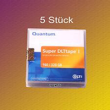 5 Stück !!!, Quantum SDLT I, SDLT 1, 110-320 GB, Datenkassette, NEU & OVP