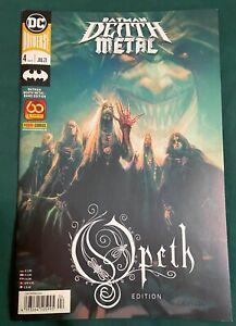 DC Marvel / Batman Death Metal - Opeth - German Edition *new* & Hard to find