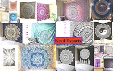 Wholesale 10 pc lot of mandala tapestry at cheap price Queen Size Multicolor