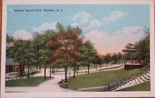 Hoboken, NJ 1920s Postcard: Hudson Square Park - New Jersey