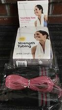 Merrithew Ankle Strength Tubing Lower Body Core Dvd Exercise Jump Rope Work Out