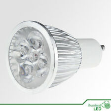 Bombilla LED GU10 5*1W High Power Blanco Puro 220V - Únicamente 5W.