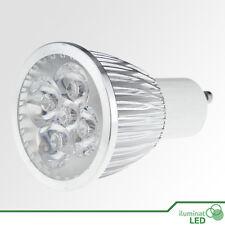 Bombilla LED GU10 5*1W High Power Blanco Puro 220V - Únicamente 5W.