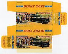 Boîte copie repro Dinky Toys 539 citroen ID 19 break ( reproduction box vide )